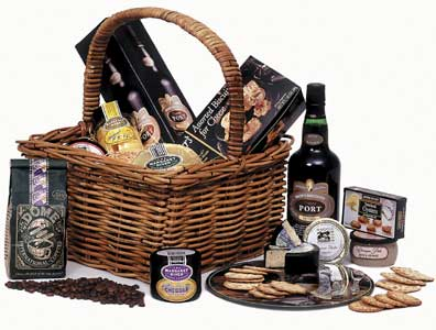 Cheese and Port Gourmet Hamper - Perth Delivery Only